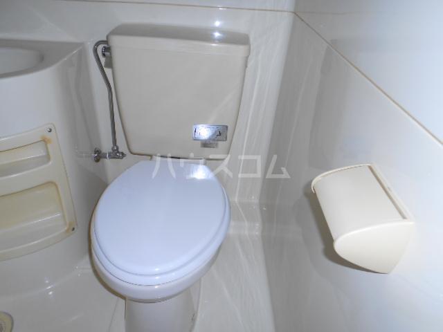 サンクチュアリーフォレスト 603号室のトイレ