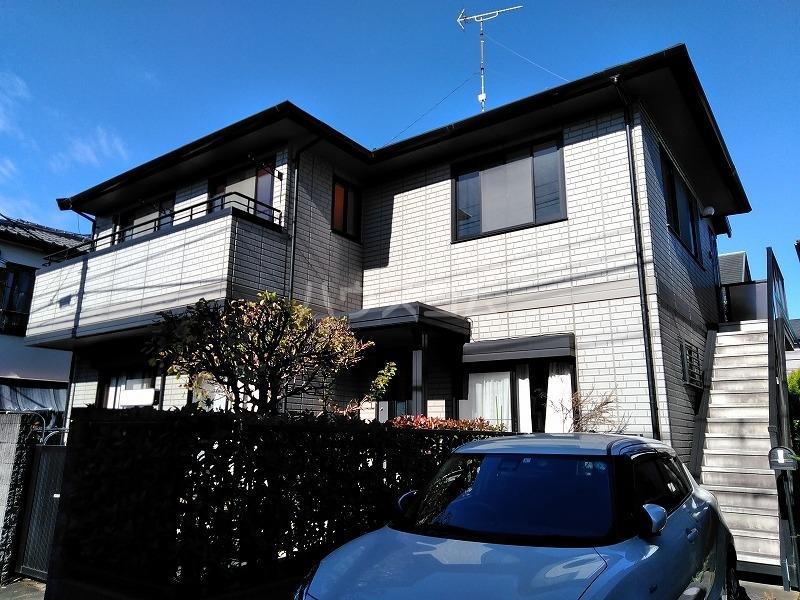 石川邸の外観