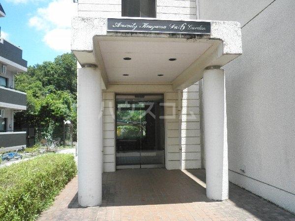 アメニティコウヤマ第6ガーデン 117号室のエントランス