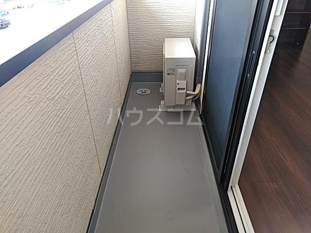 彩 A 205号室のバルコニー