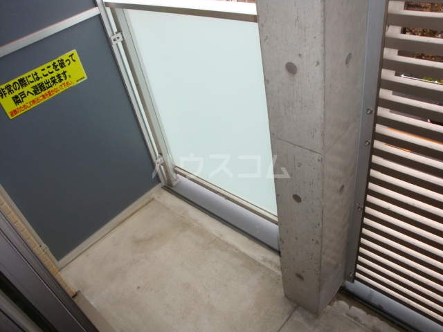 AXIS 301号室のバルコニー