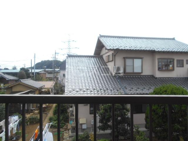 大塚アパート 5号室の景色