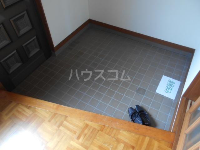 大塚アパート 5号室の玄関