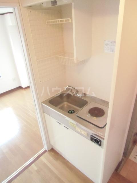 コーポ杉栄Ⅲ 4A号室のキッチン