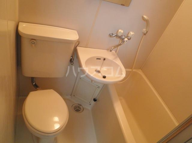 テオピレス 1-D号室のトイレ