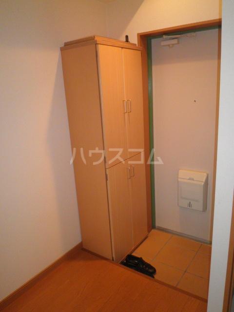 プロムナードK 203号室の玄関