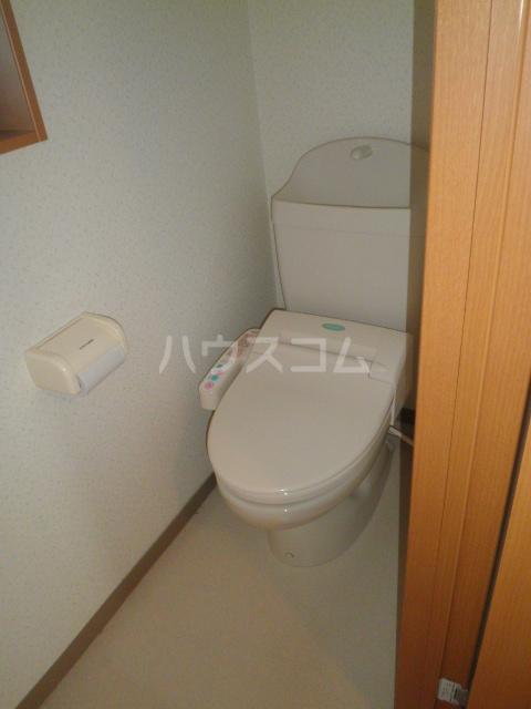 プロムナードK 203号室のトイレ