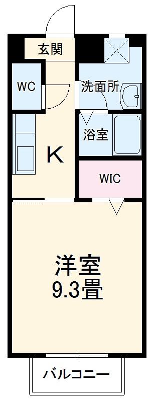 エパル和田・205号室の間取り