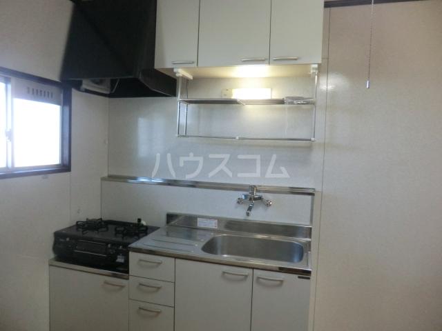 コーポ第一聖 205号室のキッチン