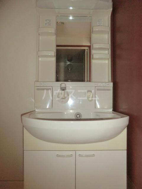 ディアコート 301号室の洗面所