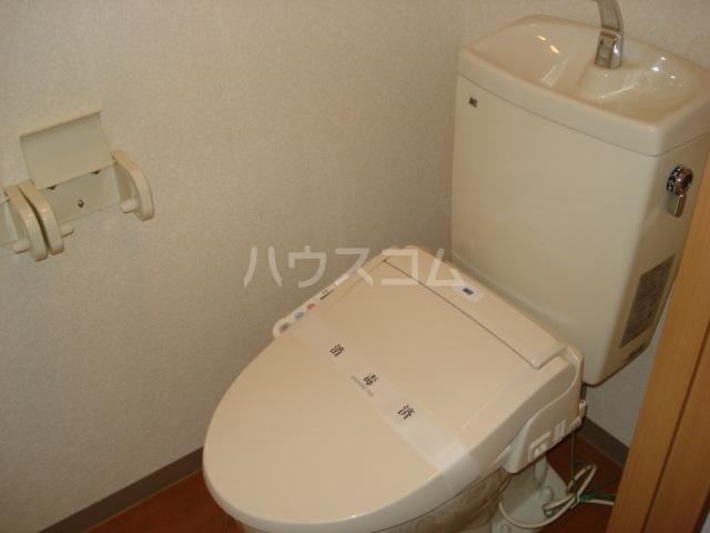 パルティール横濱 503号室のトイレ