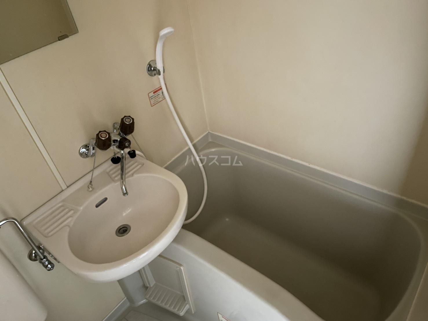 コスモポリタン'90 4C号室の風呂