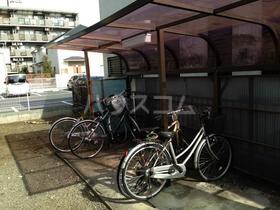 シティハイム松木 205号室の駐車場