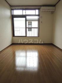 シティハイム松木 205号室のバルコニー