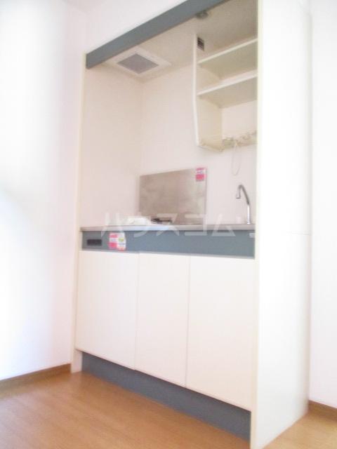 ハーミットクラブハウス鶴ヶ峰D 104号室のキッチン