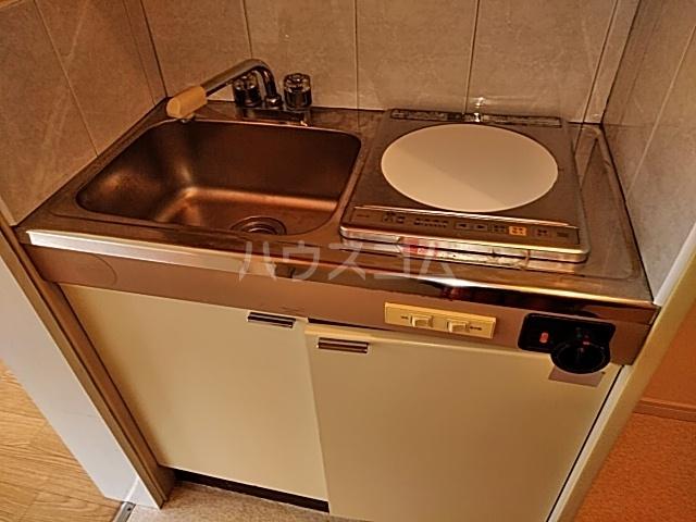 ドルフィン 201号室のキッチン