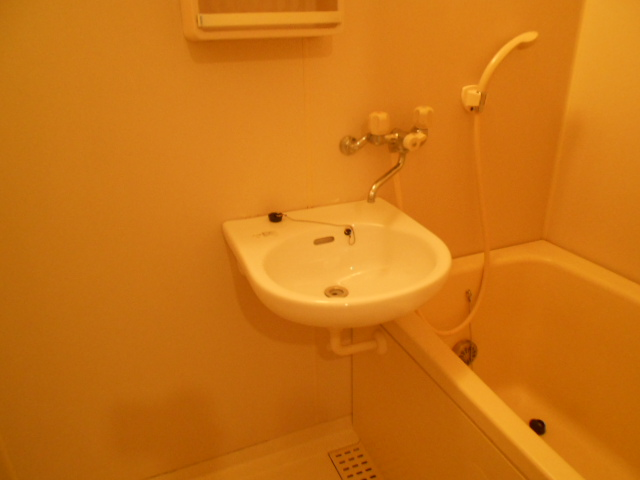 イーグルハイツ百草園 2-D号室の洗面所