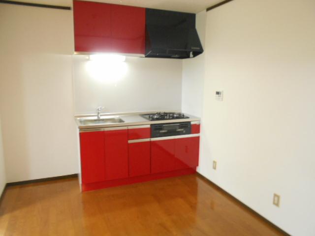 イーグルハイツ百草園 3-B号室のキッチン