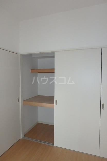 クレアール 201号室の収納