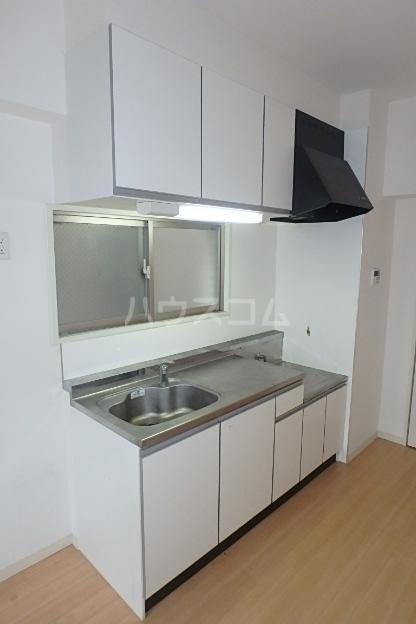 クレアール 201号室のキッチン
