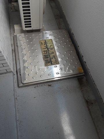 CKすずかけ台 526号室のバルコニー