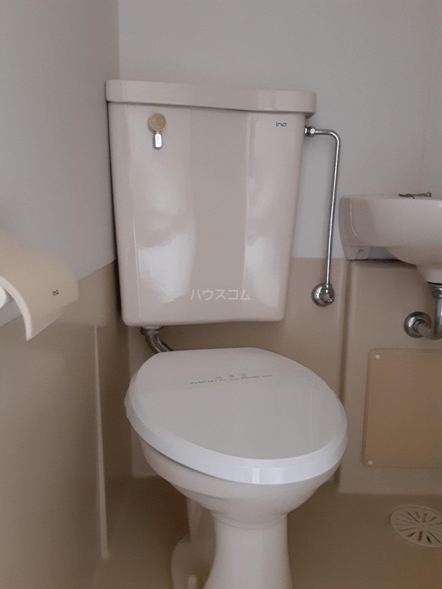 CKすずかけ台 526号室のトイレ