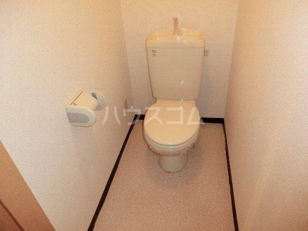 サンシャイン大留 301号室のトイレ