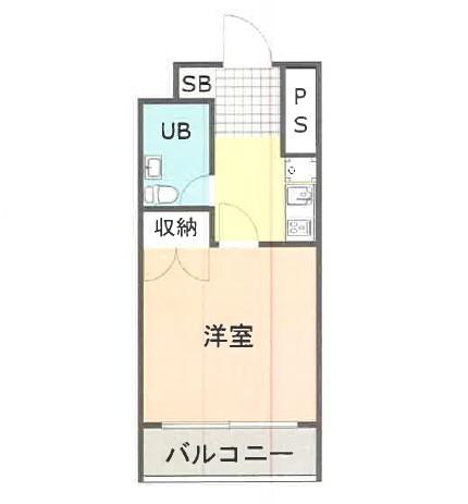 ベルトピア熊谷10 105号室の間取り