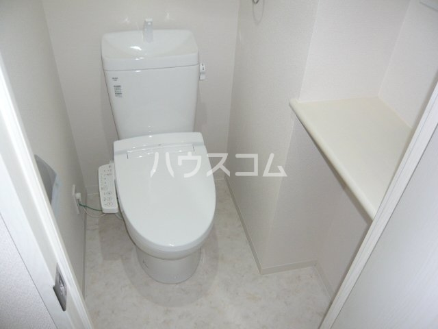 ブランセ用賀 207号室のトイレ