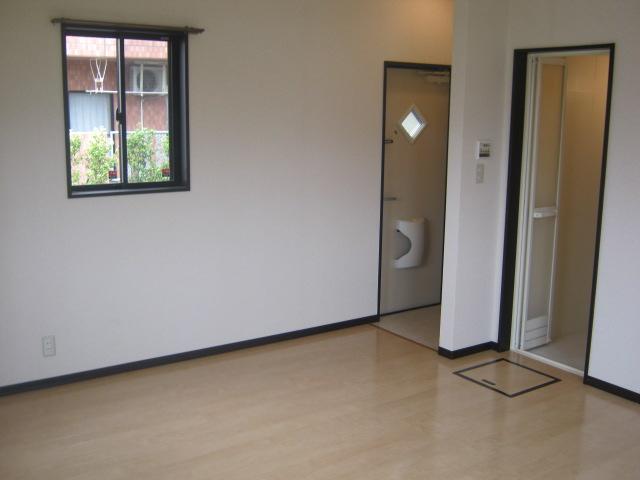 ヴィラファイン 102号室のベッドルーム