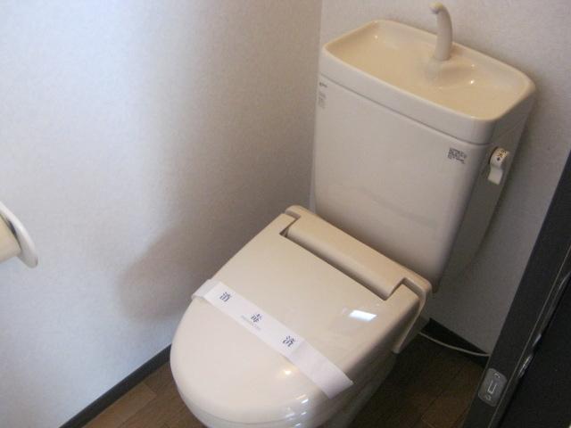 ヴィラファイン 102号室のトイレ