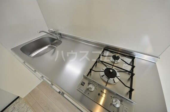 グランエッグス洗足池 11号室のキッチン