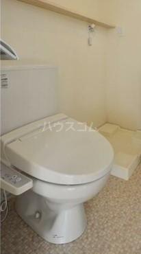 グランエッグス洗足池 11号室のトイレ