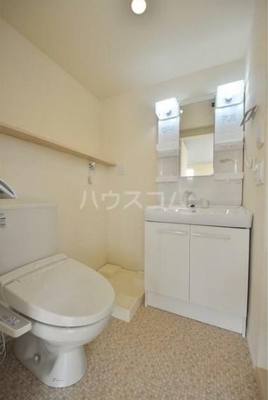 グランエッグス洗足池 11号室の洗面所