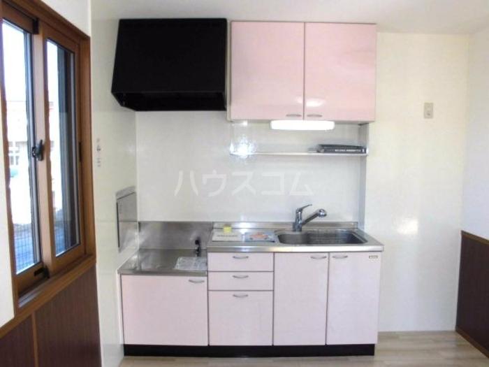ラファエル Ⅵ 102号室のキッチン