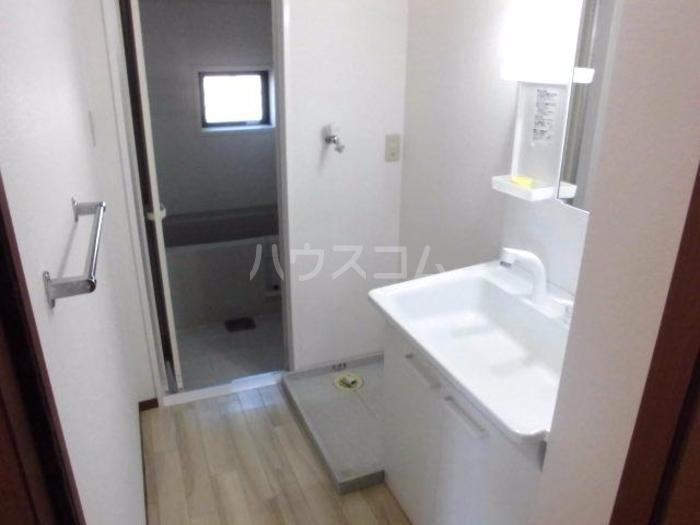 ラファエル Ⅵ 102号室の洗面所