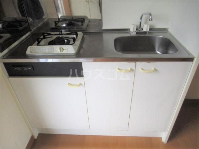 グリーンヒルズ 203号室のキッチン