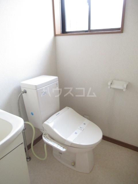 グリーンヒルズ 203号室のトイレ