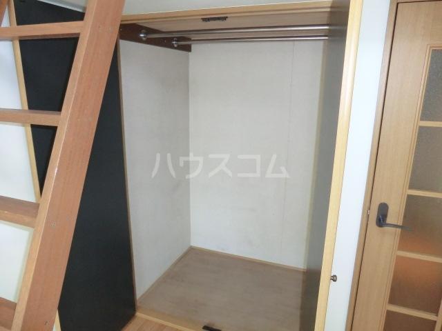 第2サンハイツ・カナイ 205号室の収納