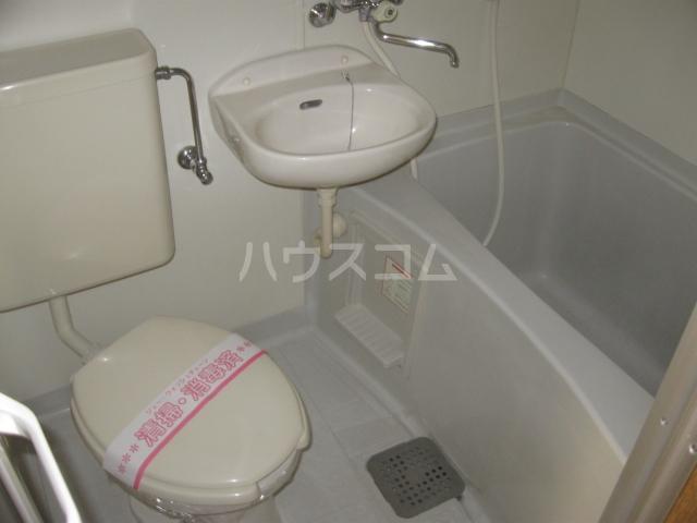 第2サンハイツ・カナイ 205号室のトイレ