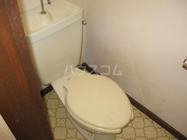 ユーコーポ 202号室のトイレ