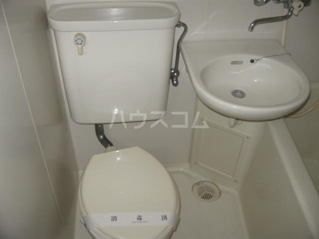 ライフピアⅡ 203号室の洗面所