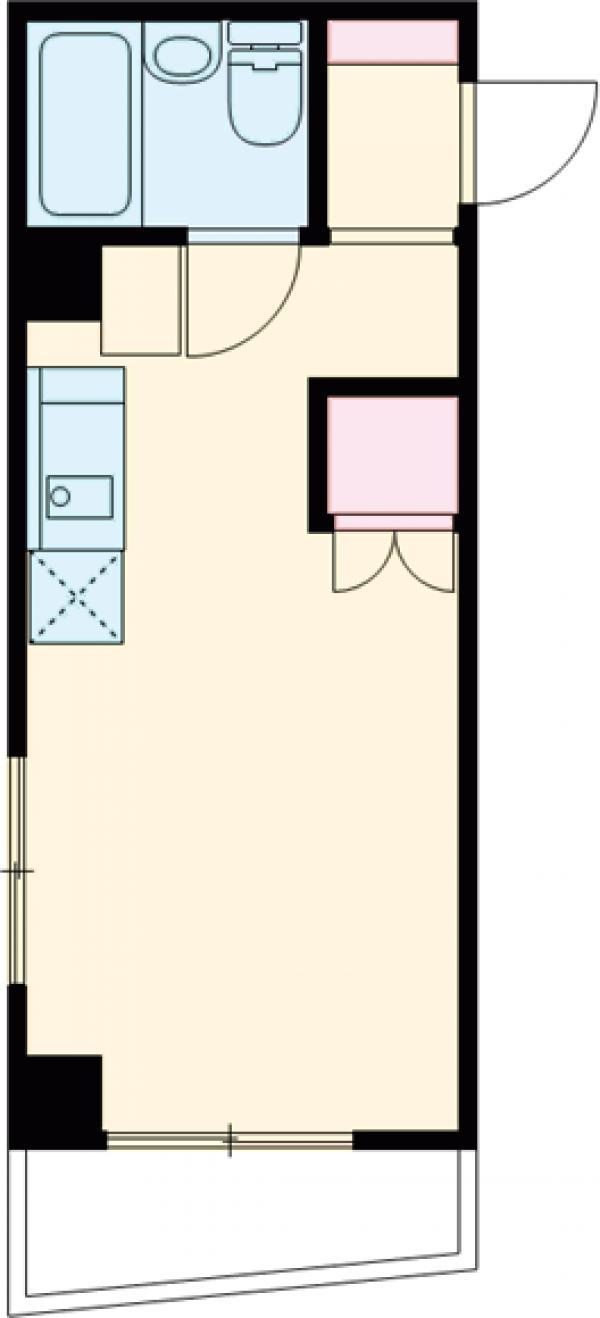 エクセルKー2・202号室の間取り