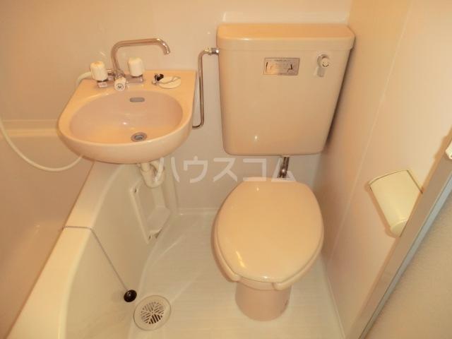 シティパレス熊谷3 101号室のトイレ