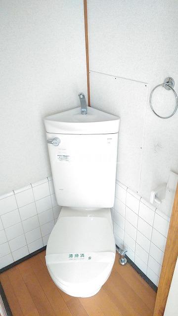 長谷川ハイツ 202号室のトイレ