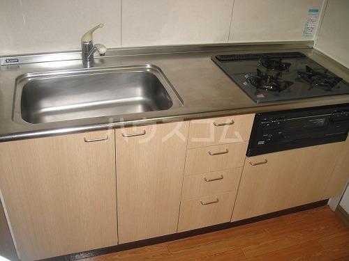 ペアムール三竹 305号室のキッチン