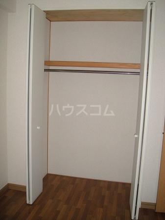 ペアムール三竹 305号室の収納