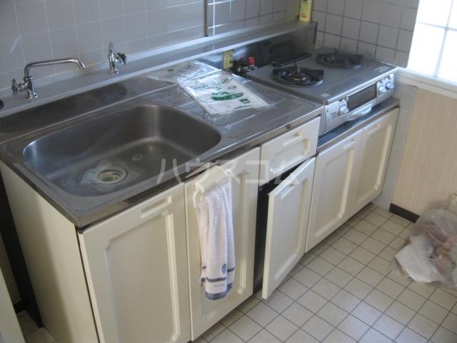 パナハイツ松村B 18号室のキッチン