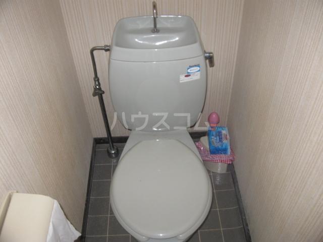 パナハイツ松村B 18号室のトイレ