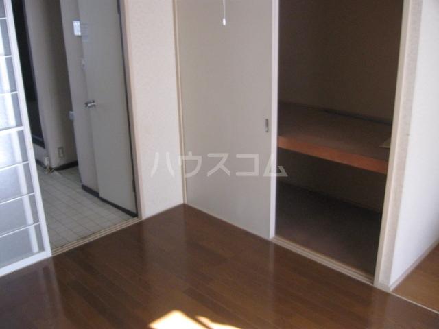 パナハイツ松村B 18号室の収納